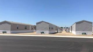FEMA opens temporary  community for Camp Fire survivors in Gridley