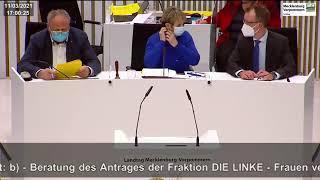 Vize-Landtagspräsidentin Mignon Schwenke hetzt über AfD-Abgeordneten