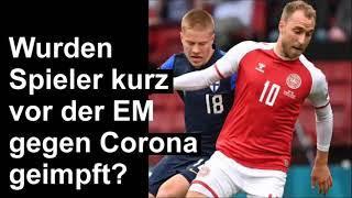 Christian Eriksen reanimiert durch Herzmassage.