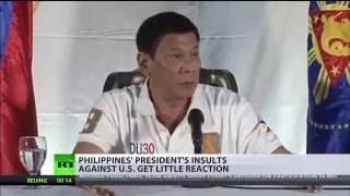'I don't give a sh*t about them': Philippines president threatens to leave 'stupid' UN