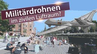 Militärdrohnen im zivilen Luftraum? | 16. August 2018 | www.kla.tv/12868