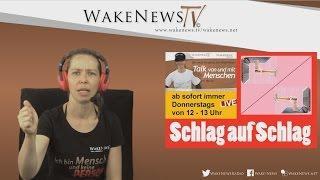 Schlag auf Schlag – Talk von und mit Menschen mit Maria Wake News Radio/TV 20160728