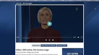 Corona - ARD beendet Panikmache: Zweite Welle ist nicht gefährlich!