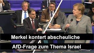 Merkel kontert abscheuliche AfD Frage - Befragung der Bundesregierung 18.12.19