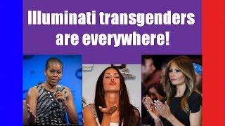 Illuminati transgenders are EVERYWHERE! (harder to accept than Flat Earth?)