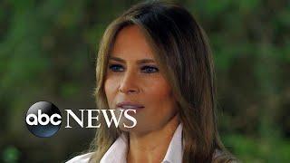 Melania Trump - klug und schön - sie erzählt Privates