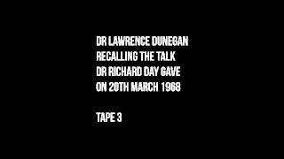 Dr Richard Day. New Order of Barbarians - Tape 3