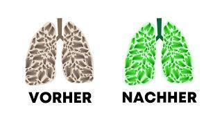 Lunge reinigen - sehr wichtig !  5 Getränke, die deine Lungen entgiften!