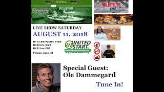UNITED WE START Roundtable Discussion 11th of August, 2018 - Special Guest: Ole Dammgard