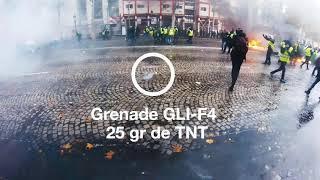 """Frankreich extrem: mit Granaten und Explosionen gegen die """"Gelbwesten"""""""