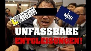 UNFASSBARE ENTGLEISUNGEN - NDR-Journalist will alten Mann zusammenschlagen!
