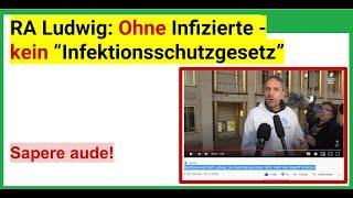 """Na endlich! Rechtsanwalt Ralf Ludwig: """"Die Gerichte benutzen nicht mehr den Begriff 'Infektion'."""