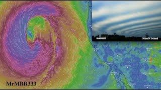 "Bizarre ""Winter"" Anomalies being influenced by a TITANIC Pacific Low!"