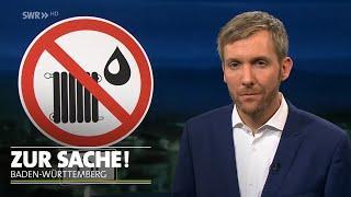 Ist bei der Ölheizung bald der Ofen aus? | SWR Zur Sache! Baden-Württemberg