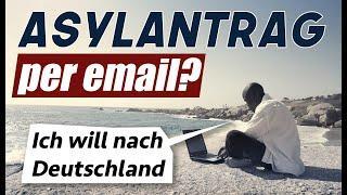 Asylanträge via email,  1.500 Euro & Amnestie für alle Illegalen?