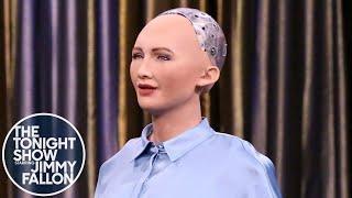 Geniale Technologien - Sophia spricht mit Jimmy Fallon