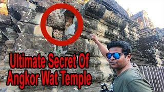 This is Inside The Stone Blocks of Angkor Wat? Ancient Engineering Technology |Part 7| Praveen Mohan