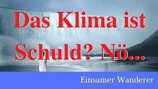 Klimawandel Schuld am Hochwasserschutz?Nein! (ich habe in der Hochwasserschutzforschung gearbeitet!)