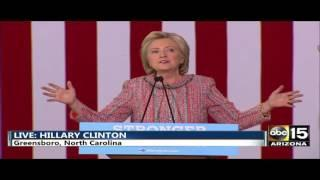 Illuminati Hillary Clinton IS DEAD coverup 100% PROOF 100% Fake Rally PROOF of Video Compositing