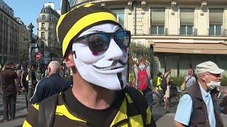 """""""Uns gibt es immer noch"""" - neue Gelbwesten-Proteste in Frankreich"""