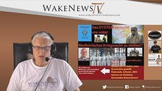 Das SYSTEM versucht uns unter Medizinisches Kriegsrecht zu stellen!? - Wake News Radio/TV 20200225