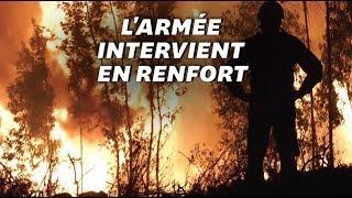 Au Portugal, les images du vaste incendie qui ravage le centre du pays
