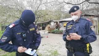 18.4.2021: Erneut Polizei-Willkür im Linzer Vereinsgarten am Samstag, den 17.4.21 ????????????????