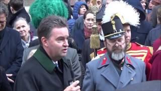 Feierliches Gedenken des 100. Todestages von Kaiser Franz Joseph I., im Stephansdom zu Wien.