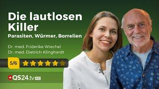 Die lautlosen Killer: Parasiten, Würmer, Borreliose und Gifte | Dr. Wiechel & Dr. Klinghardt | QS24