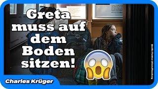 Schrecklich: Greta findet im Zug keinen Sitzplatz mehr!