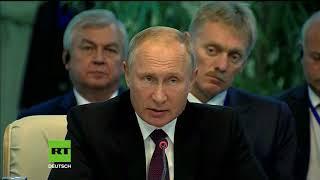 Putin warnt vor Chemiewaffeneinsatz durch Terroristen in Syrien