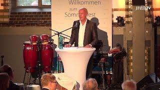 """Denn Frau Merkel ist eine ehrenwerte Frau"" - Festrede von Joachim Steinhöfel"