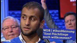 """ERster Auftritt eines YOU TUBERS  - """"Sind Flüchtlinge noch willkommen?"""""""