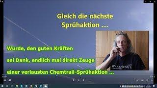 Trailer: Wurde endlich mal direkt Zeuge (1.000 Dank) einer verlausten Chemtrail-Sprühaktion