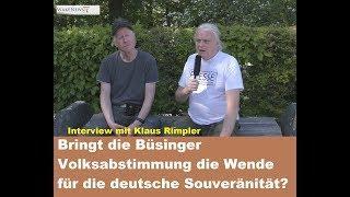 Bringt die Büsinger Volksabstimmung die Wende für die deutsche Souveränität?