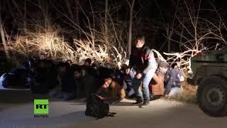 Griechenland: Militär setzt Gruppe von Migranten bei Patrouille fest
