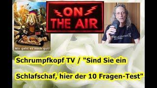 """Trailer: Schrumpfkopf TV / """"Sind Sie ein Schlafschaf, hier der 10 Fragen-Test""""  ..."""