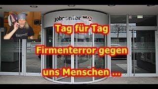 Schrumpfkopf TV / Behördenterror seitens der Firmen (hier Jobcenter) gegen 2 Menschen dokumentiert