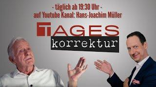 BRD und Kaiserreich - Hans-Joachim Müller und Daniel - Tageskorrektur 01.01.2021
