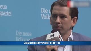 Sebastian Kurz gegen Sozialleistungen für unqualifizierte Migranten