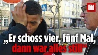 Hanau - Augenzeuge Pieter erzählt, wie er den Terroranschlag von Hanau überlebt hat