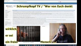 """Trailer: Schrumpfkopf TV / """"Wer von Euch denkt wirklich noch, er sein ein freier Mensch"""" …"""