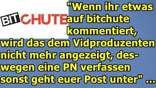 """""""Bitchute zeigt nicht mehr an, wenn ihr kommentiert habt, deswegen bitte PN!!!"""" ..."""