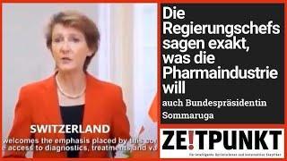 Staatschefs sprechen mit einer Stimme: «diagnostics, therapeutics and vaccines»
