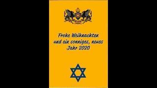 Neujahrsgrüße der Israel Lobby im Sonnenstaatland Deutschland an staatenlos.info