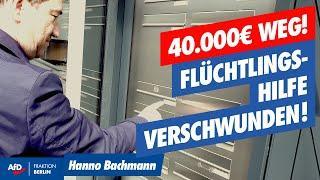 Steuergelder veruntreut? Asyl-Verein verschwunden!  #investigativ