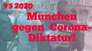 9.5.2020: München gegen Corona-Diktatur!