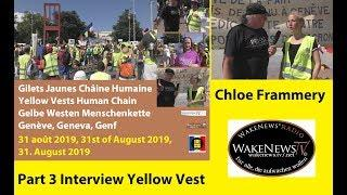 Gilets Jaunes protest in front of the UN-building, Part 3: Interview with Chloé Frammery