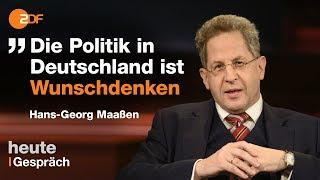 Hans-Georg Maaßen mit Markus Lanz im Schlagabtausch