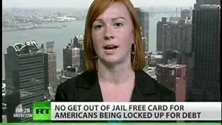 In prison for debt
